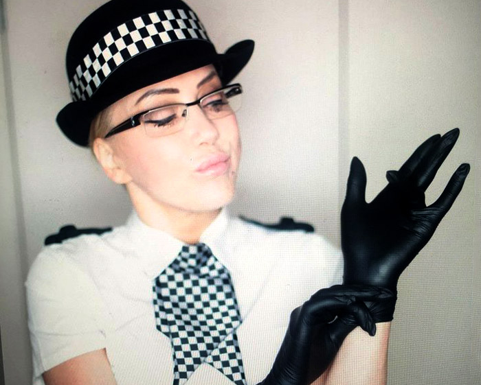 southport policewoman roleplay search